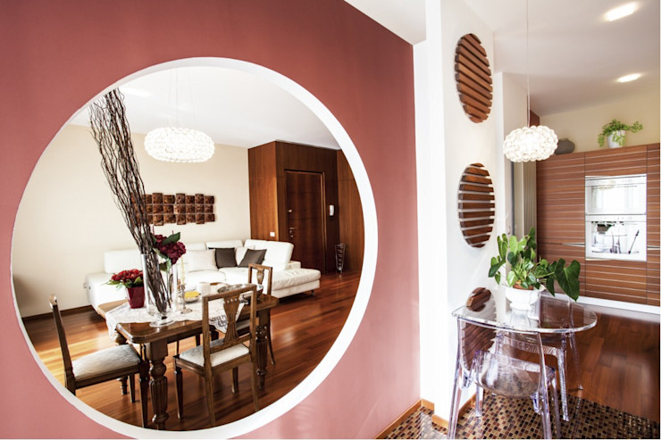 STUDIO DOTT. ARCH. GIANLUCA PIGNATARO Modern Living Room