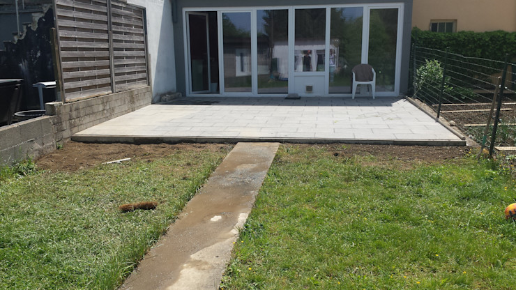 Paved Terrace Neil Brown - Handyman & Renovations