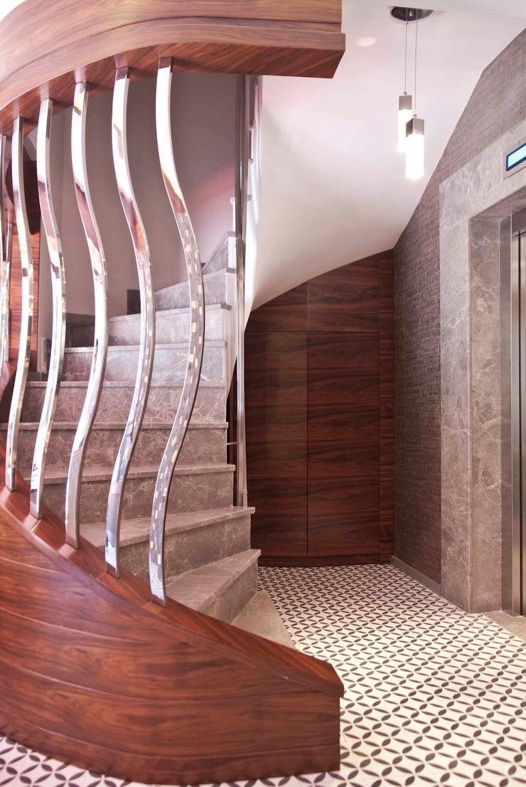 stairway Aredeko Art & Design Casas rústicas