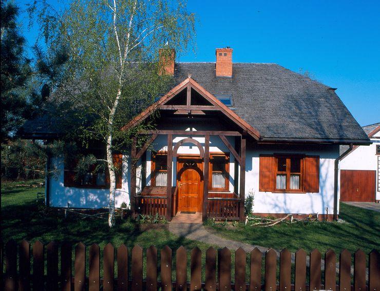 BM-Architekci Дома в стиле кантри