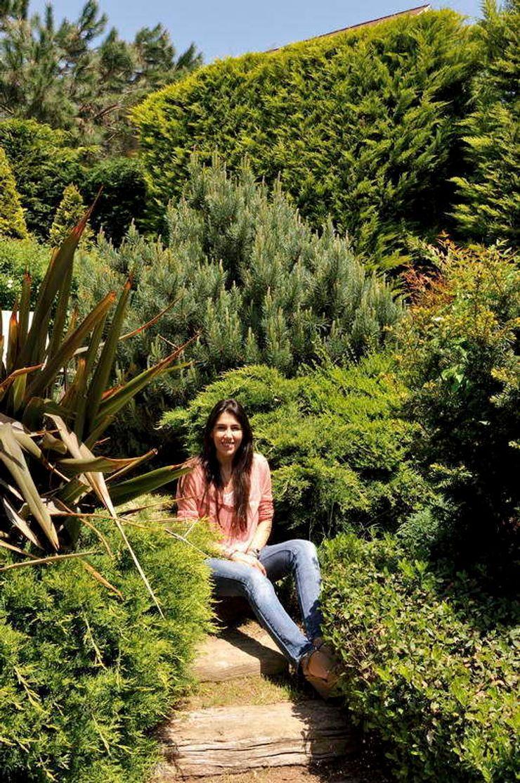 GGS HOUSE Esra Kazmirci Mimarlik GartenPflanzen und Blumen