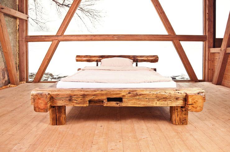 joist bed edictum - UNIKAT MOBILIAR BedroomBeds & headboards