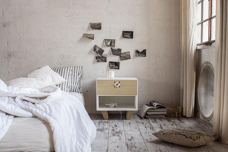 NODO bedside table Andrea Brugnera Design SchlafzimmerNachttische
