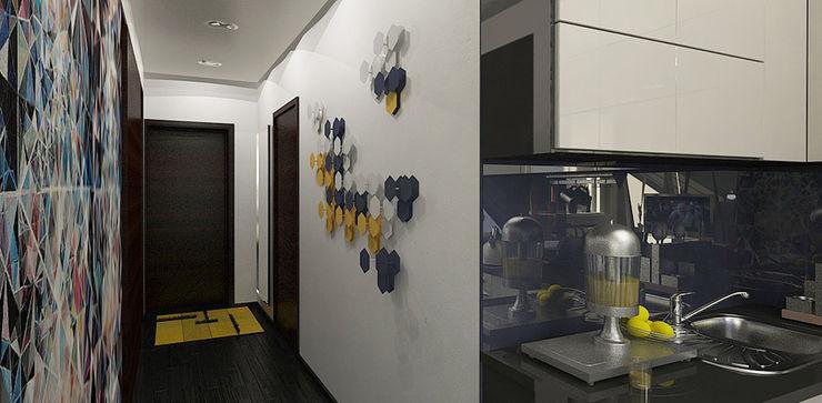 Александра Петропавловская Minimalist living room