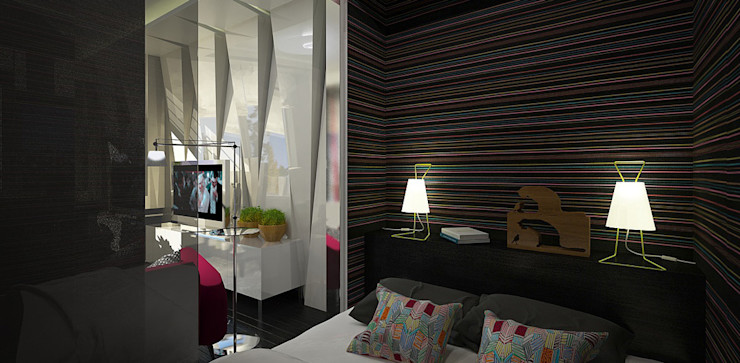 Александра Петропавловская Minimalist bedroom