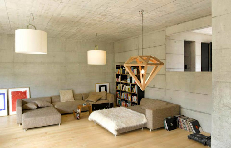 Marty Häuser AG Ruang Keluarga Modern
