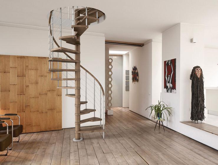 Fontanot – Albini & Fontanot S.p.A. Tangga, Lorong & Koridor: Ide desain, inspirasi & gambar
