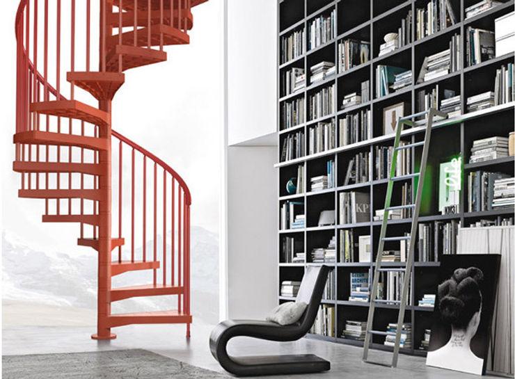Fontanot – Albini & Fontanot S.p.A. Ruang keluarga: Ide desain interior, inspirasi & gambar