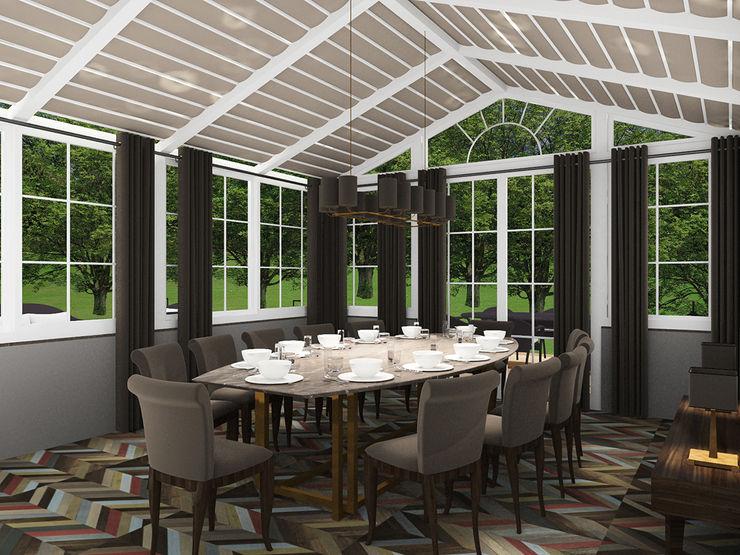 CO Mimarlık Dekorasyon İnşaat ve Dış Tic. Ltd. Şti. Modern conservatory