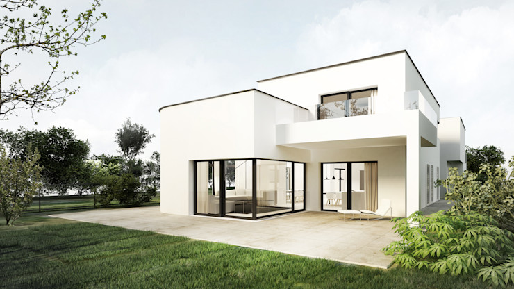 Libido Architekci Casas estilo moderno: ideas, arquitectura e imágenes
