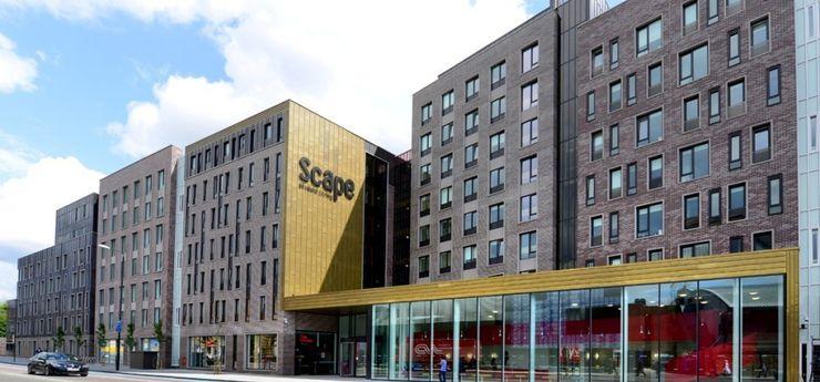 Scape East, Mile End Road Jefferson Sheard Architects Casas modernas: Ideas, imágenes y decoración