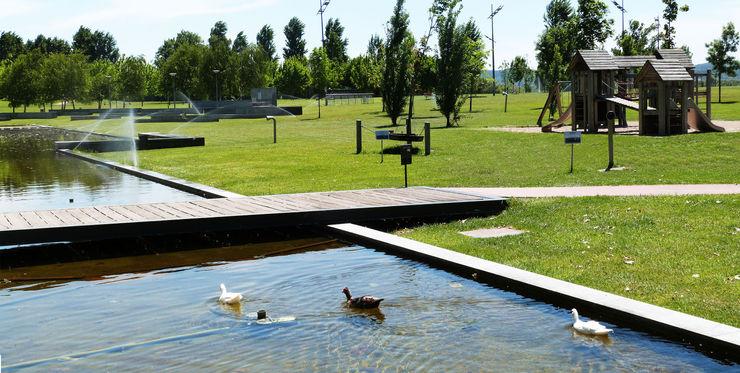 Parque da Barquinha OpenGreen Jardins modernos