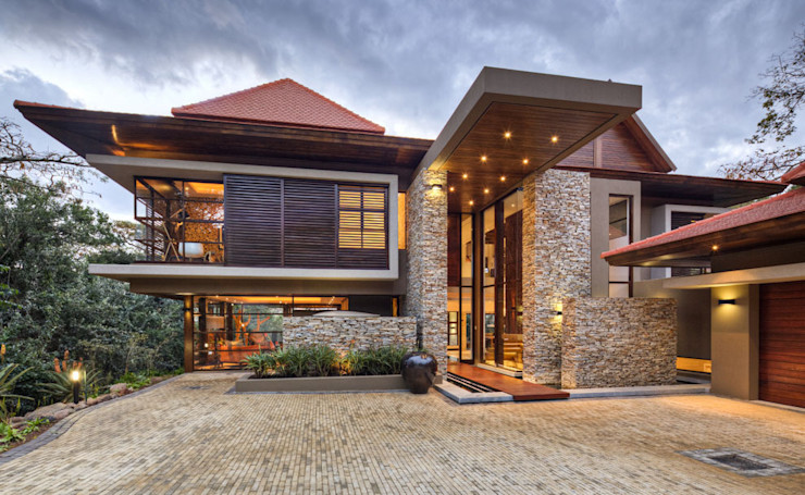 SGNW House Metropole Architects - South Africa Rumah Modern