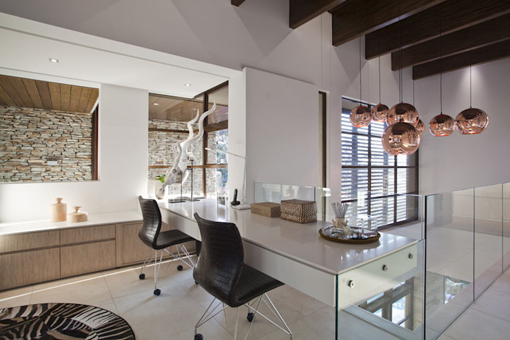 SGNW House Metropole Architects - South Africa Ruang Studi/Kantor Modern