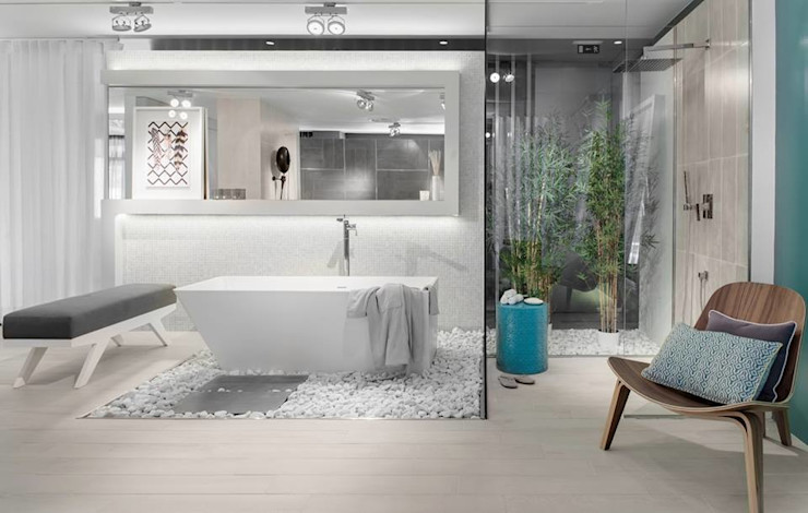 Ana Rita Soares- Design de Interiores Eclectic style bathroom