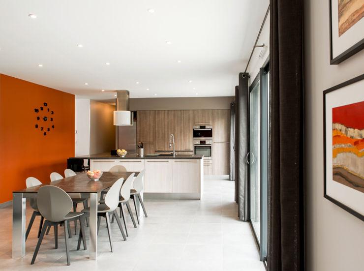Maison à Saint Genis Laval Marion Lanoë Cuisine moderne