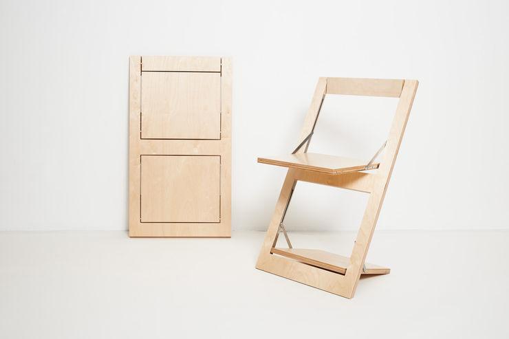 Folding Chair Fläpps – Birch AMBIVALENZ CocinaMesas, sillas y bancos Contrachapado