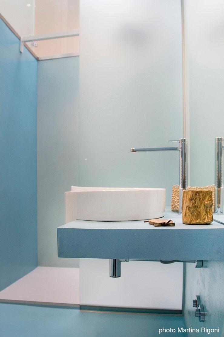 lavabo e doccia moovdesign Bagno minimalista