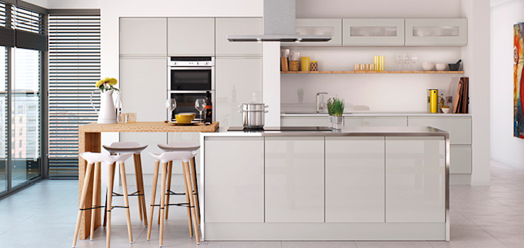Handleless Kitchens Leicester The Leicester Kitchen Co. Ltd KitchenSinks & taps