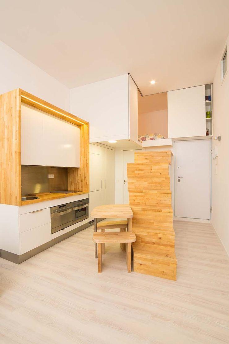 Beriot, Bernardini arquitectos Minimalist kitchen