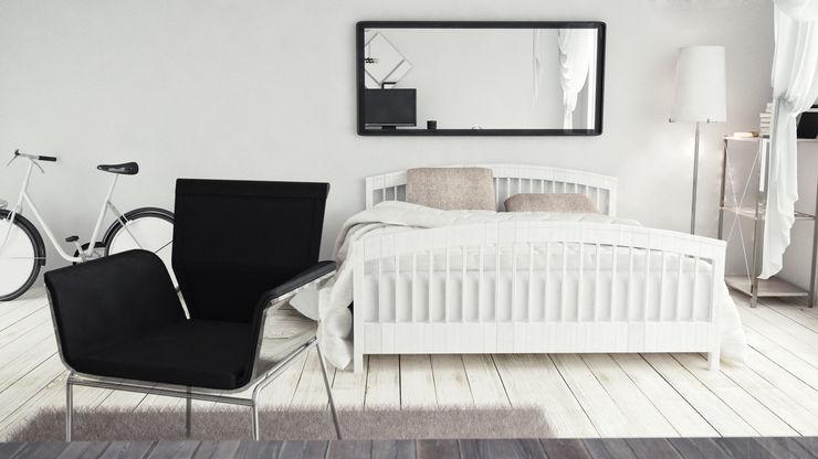 V Multimedia Minimalist bedroom