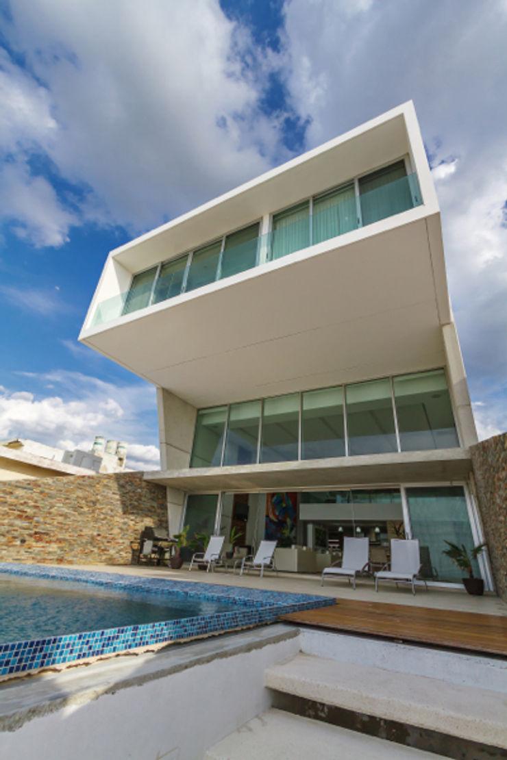 Casa JLM Enrique Cabrera Arquitecto Casas minimalistas