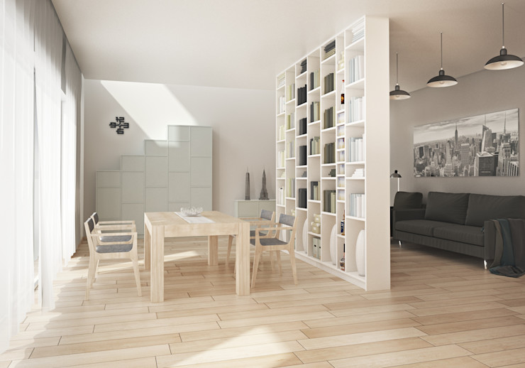homify Dining roomAccessories & decoration MDF White