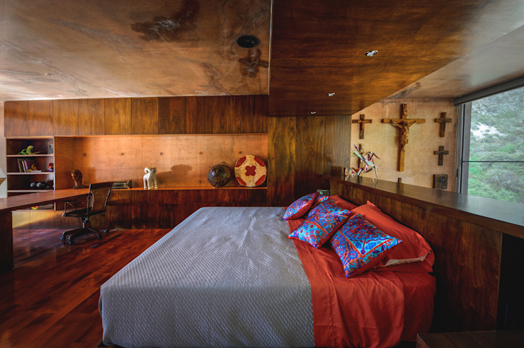 Narigua House P+0 Arquitectura Eclectic style bedroom