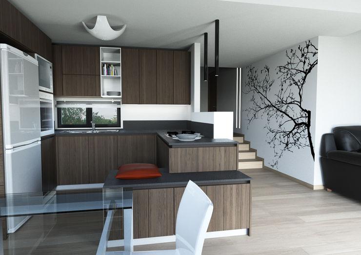 Architetto ANTONIO ZARDONI Modern Kitchen