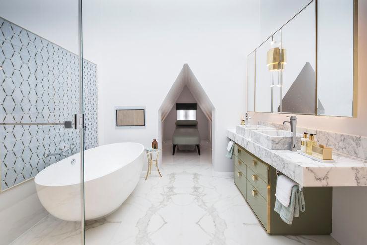Master Bathroom Roselind Wilson Design Klasyczna łazienka