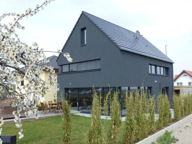 Faszination Haus - Passivhaus in Kleinkarlbach Architekturbüro für Passiv- und Energieplushäuser Ausgefallene Häuser