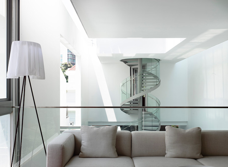 HYLA Architects Livings de estilo moderno