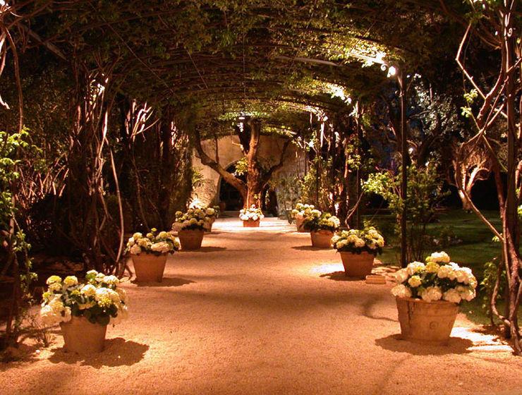 Private Villa in French Riviera Cannata&Partners Lighting Design Classic style garden