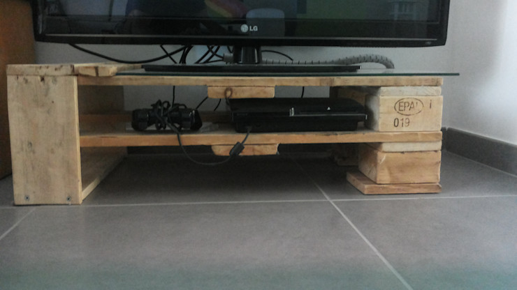 SE-RECYCLE eco design Living roomSide tables & trays