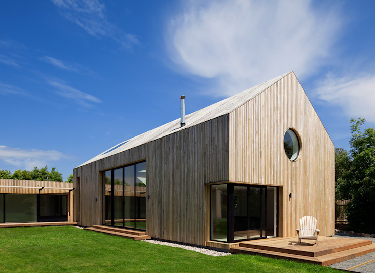 M House JAMIE FALLA ARCHITECTURE Modern houses Wood Brown