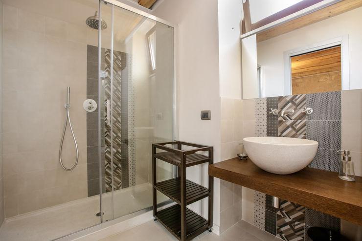 Viviana Pitrolo architetto Salle de bain rurale