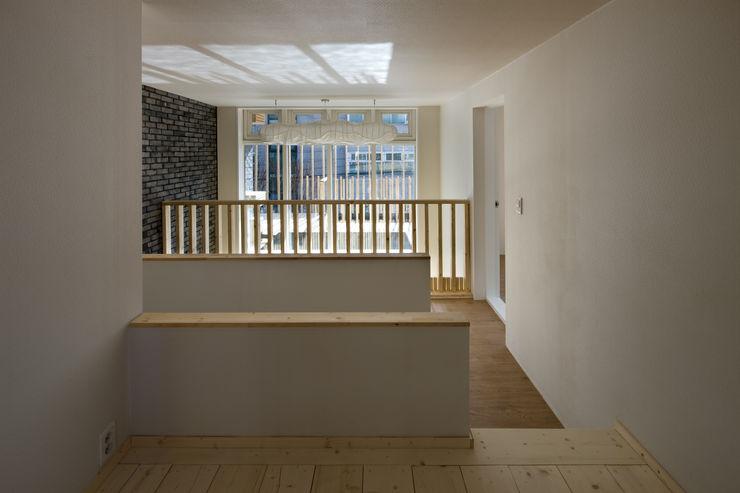 무회건축연구소 現代風玄關、走廊與階梯