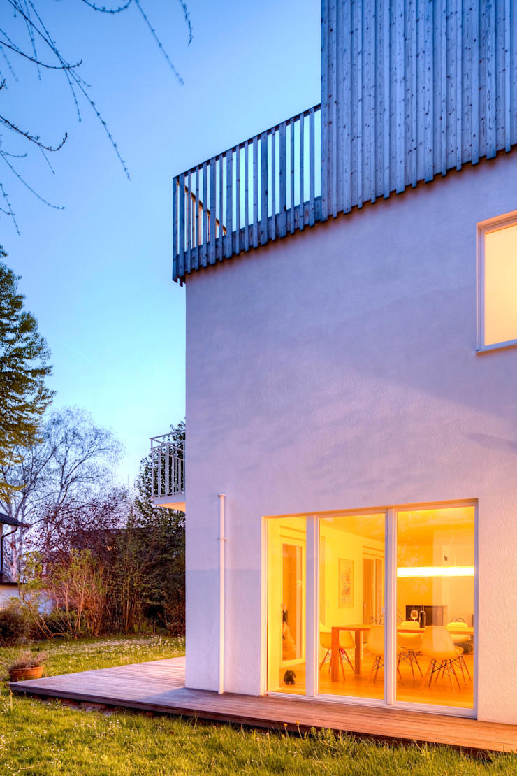 Wohnhaus in Witikon hausbuben architekten gmbh Moderne Häuser