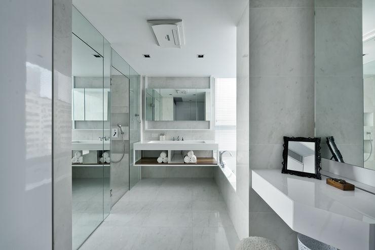 Millimeter Interior Design Limited Kamar mandi: Ide desain interior, inspirasi & gambar