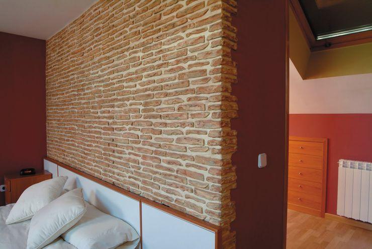 Pinturas oliváN Phòng ngủ phong cách mộc mạc