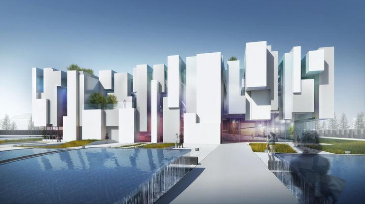 Exhibition Centre-Nanjing atelier blur / georges hung architecte d.p.l.g.