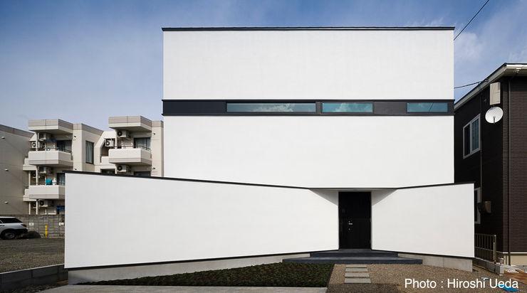 外観 石川淳建築設計事務所 ミニマルな 家 白色
