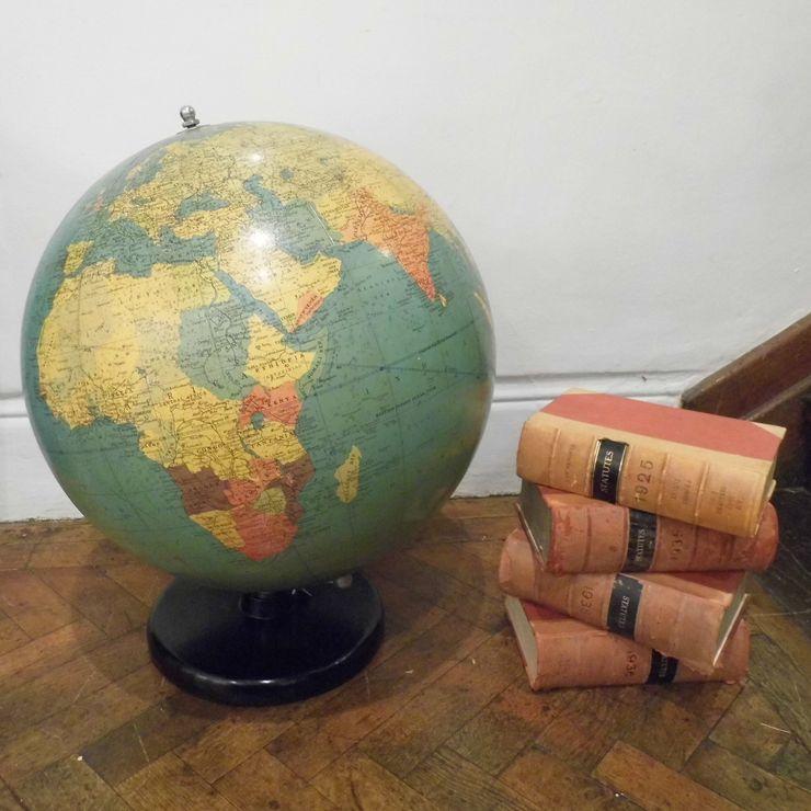 Huge Philips Globe Travers Antiques