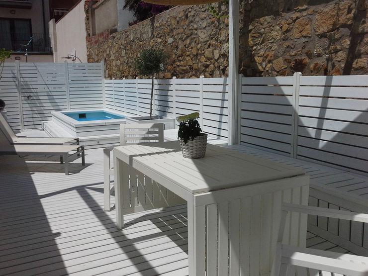 Vicente Galve Studio Balcon, Veranda & Terrasse méditerranéens
