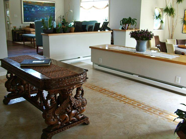 Erika Winters® Design Eclectic style corridor, hallway & stairs
