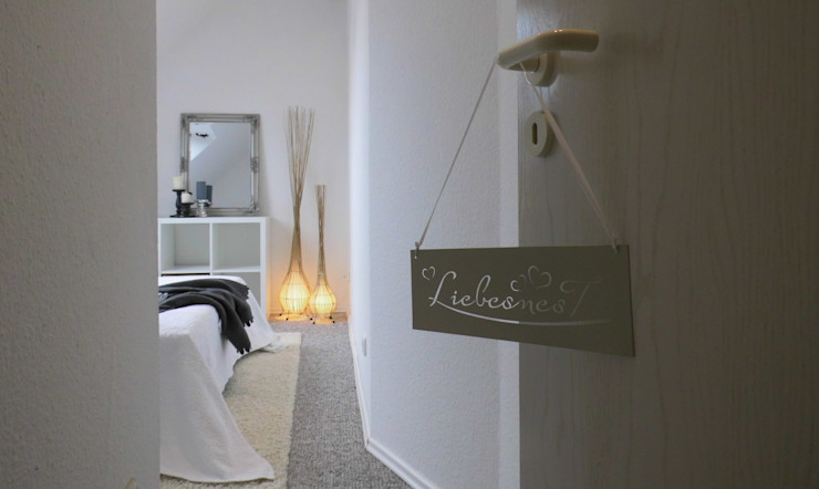 Eingang Schlafzimmer - nachher raum² - wir machen wohnen