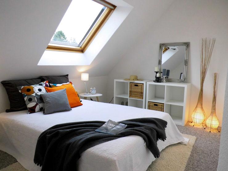 Schlafzimmer - nachher raum² - wir machen wohnen