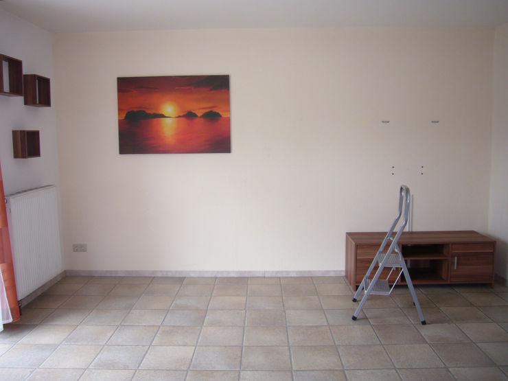Wohnzimmer - vorher raum² - wir machen wohnen