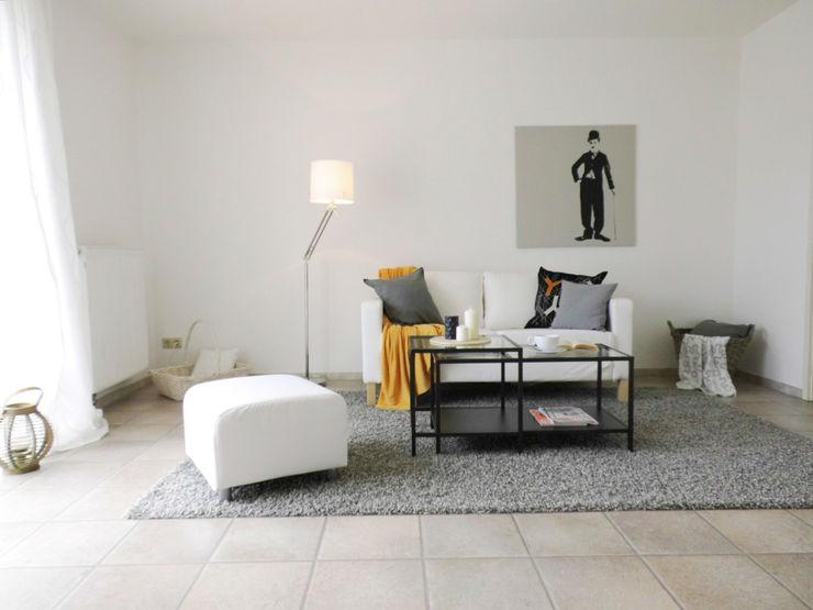 Wohnzimmer - nachher raum² - wir machen wohnen