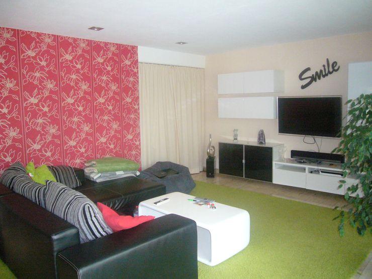 Wohnzimmer - vorher raum² - wir machen wohnen Moderne Wohnzimmer